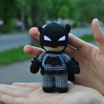 Crochet Batman / Batman / Batman vs Superman / Dark Knight / Batman  amigurumi