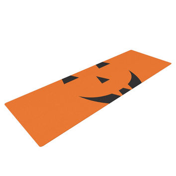 "KESS Original ""Pumpkin - Treat"" Yoga Mat"