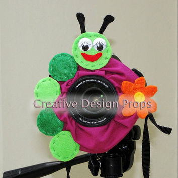 Camera Lens Friends Hungry Caterpillar by CreativeDesignProps