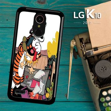Calvin And Hobbes V0305 LG K10 2017 / LG K20 Plus / LG Harmony Case