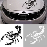 30CM 3D Scorpion Car Stickers Car Styling Sticker for Cars Decoration DIY