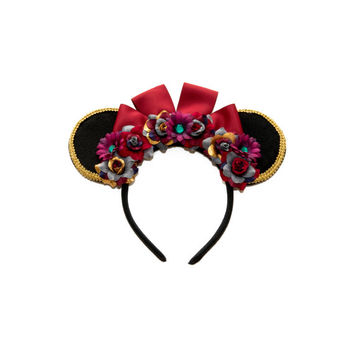 Lady Tremaine Disney Ears Headband, Minnie Mouse Ears, Disney Villain Ears, Cinderella Ears, Disney Headband, Disney Bound, Disneyland