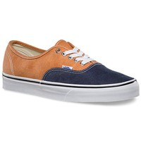 Vans Authentic Washed 2 Tone Shoes