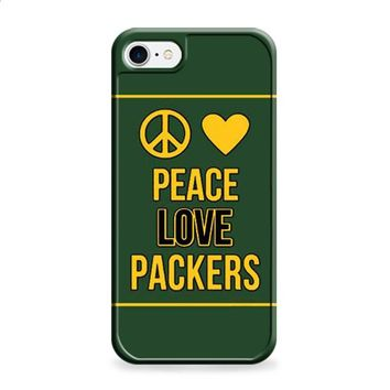 Green Bay Packers peace love iPhone 6 Plus | iPhone 6S Plus case