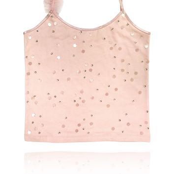 [ PRE ORDER *] DOLLY by Le Petit Tom ® True Ballerina top ballet pink