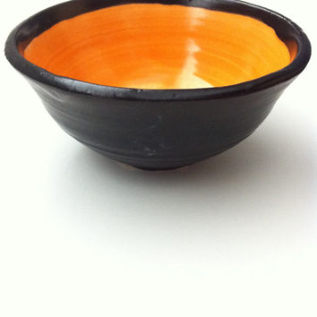 Handmade Ceramic mini bowl - cat feeder/water holder or jewelry holder