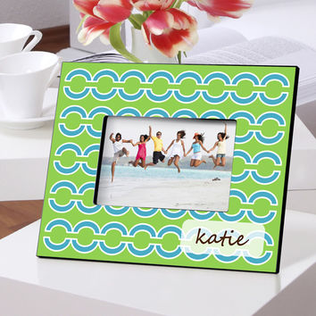 Personalized Color Bright Frames - Blue Links