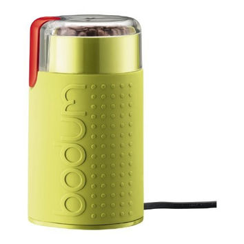 Bodum Bistro Electric Coffee Grinder in Lime Green