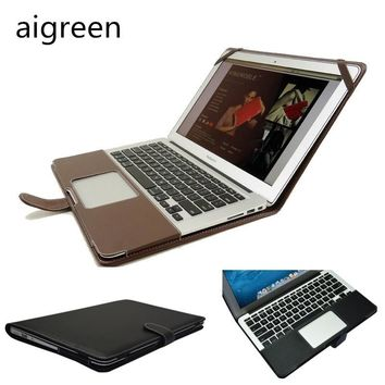 "2017 Newest Leather Sleeve Case For Macbook Air 11, Air 13, Pro 13, Pro 15, Bag Fo Laptop 13.3"", 15.4 inch, Drop Free Shipping"