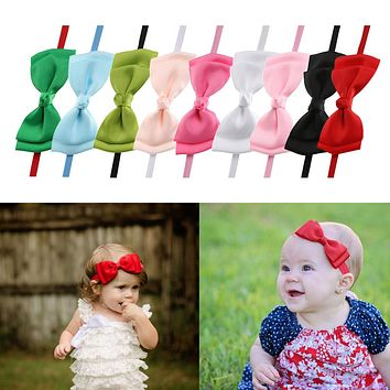 Baby Girl Bow knot Headband Baby Kids Hairband Head wrap Head wear Accessories