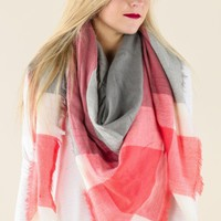 Do Tell Blanket Scarf-Pink