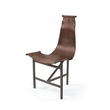 Eileen Leather Chair