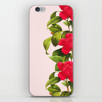 Botanical Light Kiss iPhone & iPod Skin by cadinera