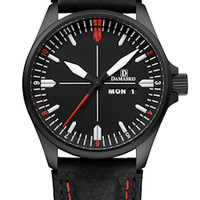 Damasko DA343 Black Automatic Watch