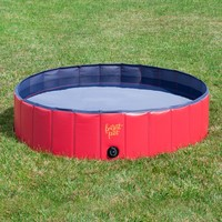 Folding Dog Pool with Drain Plug