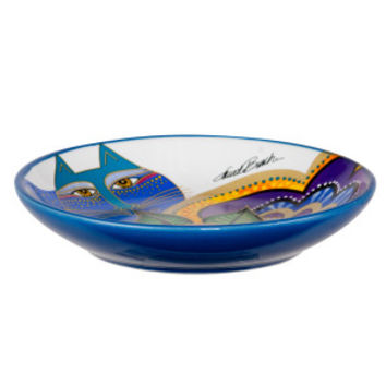 Laurel Burch Carlotta Cat Saucer | Food & Water Bowls | PetSmart