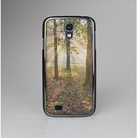 The Vivia Colored Sunny Forrest Skin-Sert Case for the Samsung Galaxy S4