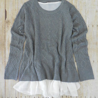 Shifting Seasons Sweater [7403] - $41.00 : Feminine, Bohemian, & Vintage Inspired Clothing at Affordable Prices, deloom