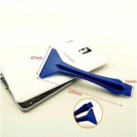 Hot selling Mobile Phone Repair Opening Tool Plastic pry bar ipad foil scraper disassemble tool for mobile phone