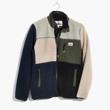 Penfield® Colorblock Mattawa Fleece Jacket : | Madewell