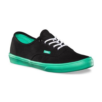 Vans - Unisex Authentic Lite Shoes In Black/Bisc, Size: 11 D(M) US Mens, Color: black/bisc
