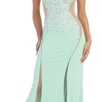 Prom Long Dress Formal Plus Size Evening Gown