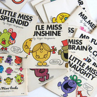 Instant Collection .. Mr. Men and little Miss books / set of 19 by Roger Hargreaves