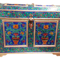 ROYAL MEENAKARI Big JEWELRY BOX