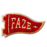 FAZE Flag Chenille Patch in red