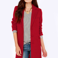 Cold Remedy Red Coat