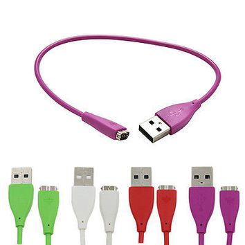 USB Charging Charger Cable For Fitbiting Charge HR Wireless Activity WristbandHU