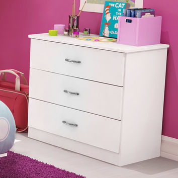 Walmart: South Shore Smart Basics 3-Drawer Chest, White
