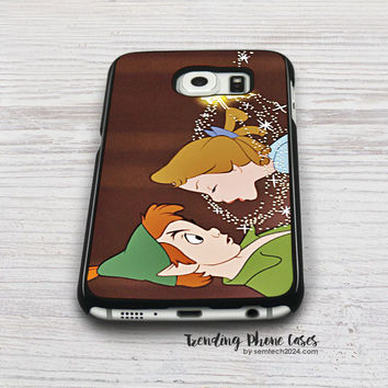 Peter Pan Kiss  Samsung Galaxy S6 Case Cover for S6 Edge S5 S4 Case