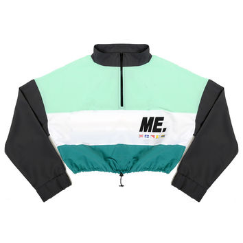 M.E. Crop Windbreaker