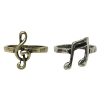 Music Best Friends Ring Set
