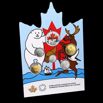 2019 Canada Circulation Coin Set: Everlasting Canadian Icons