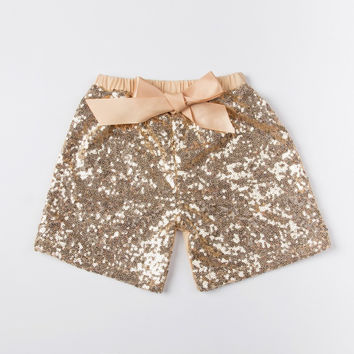 Choice of Girls Sparkly Sequin Summer Shorts