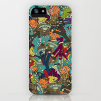 comic chaos iPhone Case by Sharon Turner | Society6