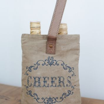 Cheers Double Wine Bag