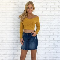 Sweeter Than Honey Knit Top