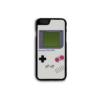 Classic Nintendo GameBoy Phone Case for iPhone 4/4S/5/5S/5C/6/6+ and Samsung S3/S4/S5 in Hard Plastic/Rubber FREE STANDARD SHIPPING!