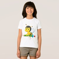 Cute Yellow Bee T-Shirt