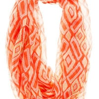 TROY TRIBAL LOOP SCARF