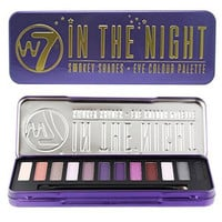 Natural Naked Eye Colour Palette In The Nights W7 In The Nights Eye Shadow Beauty Cosmetic