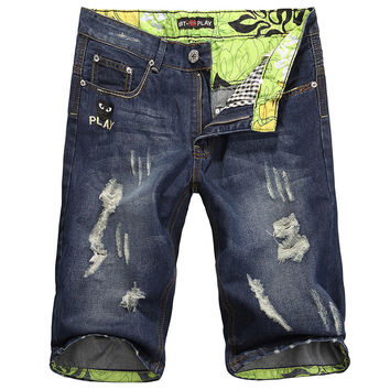 Summer Men Korean Fashion Stylish Pants Jeans [6528424963]