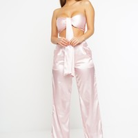 Ky Silk Set - Pink