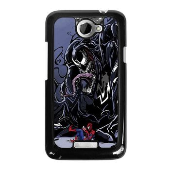 SPIDERMAN VENOM MARVEL HTC One X Case Cover