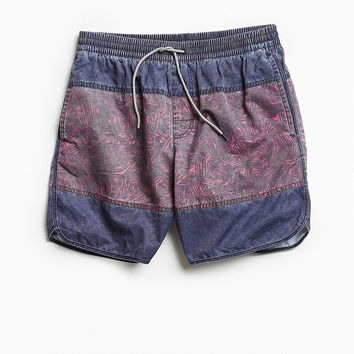 UO X Katin Abstract Colorblocked Dolphin Swim Short | Urban Outfitters