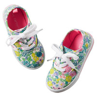 Carter's Floral Casual Sneakers