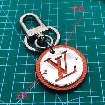 Louis Vuitton Lv M62689 Circle Bag Charm And Key Holder Orange